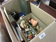 Box containing quantity of miscellaneous items