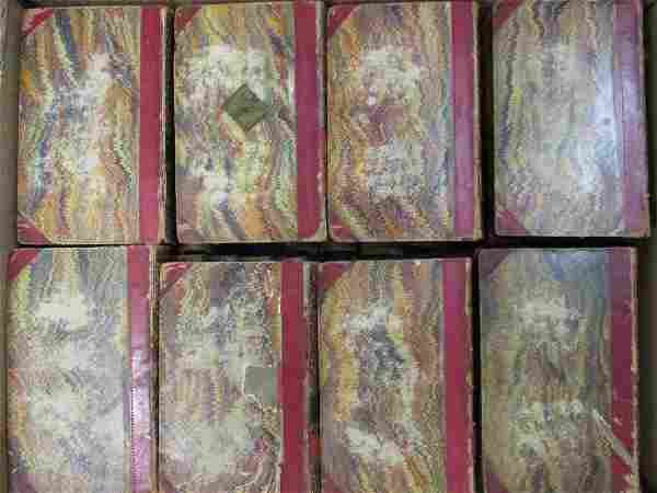 Set of forty one 19th Century volumes, ' Scotts Novels,
