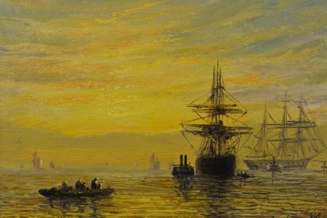 Adolphus Knell, oil on canvas, various shipping at