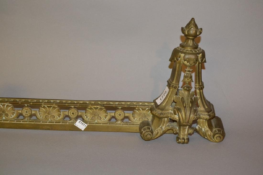 French cast brass adjustable fender
