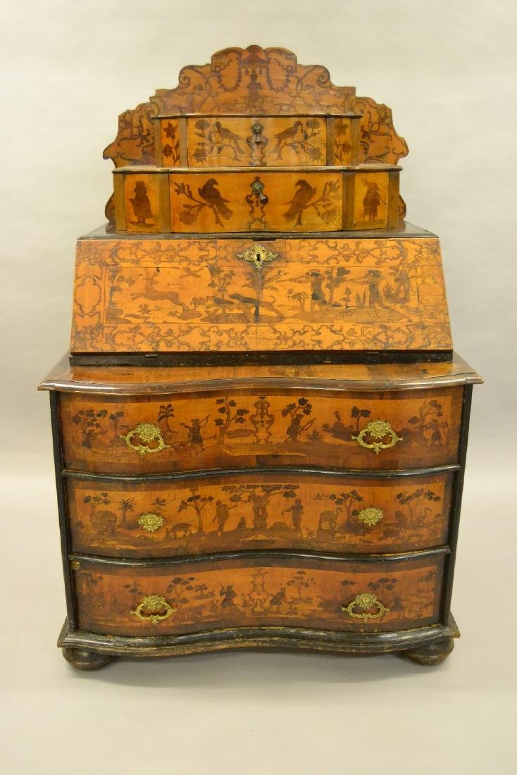 18th Century South German / North Italian walnut and