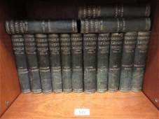 Thirty four volumes, the Harry Lorrequer Edition, '