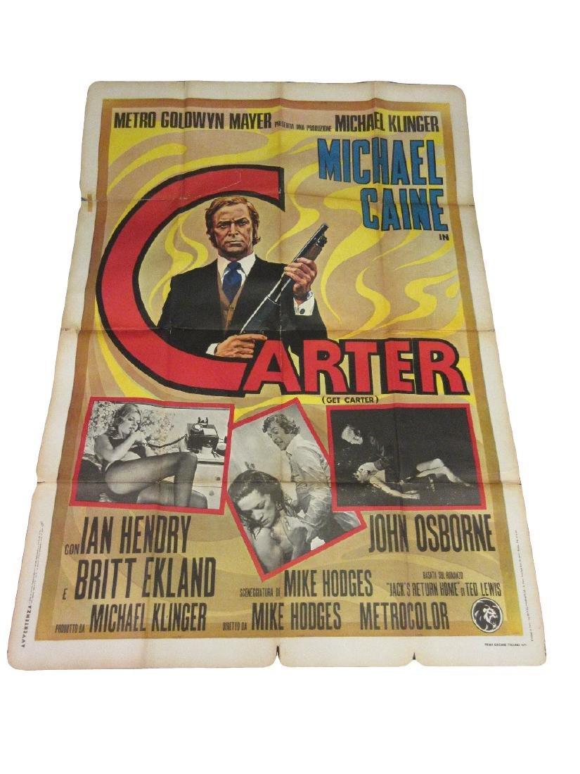 1971 Italian ' Get Carter ' cinema poster