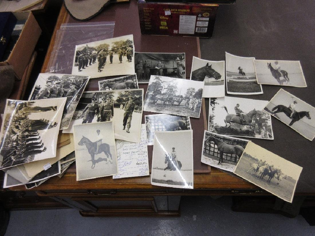 Quantity of World War II and other military photographs