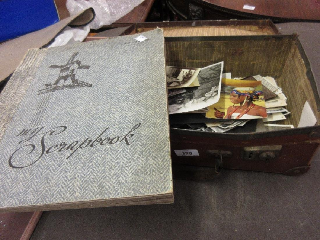 Box containing a quantity of miscellaneous photographs