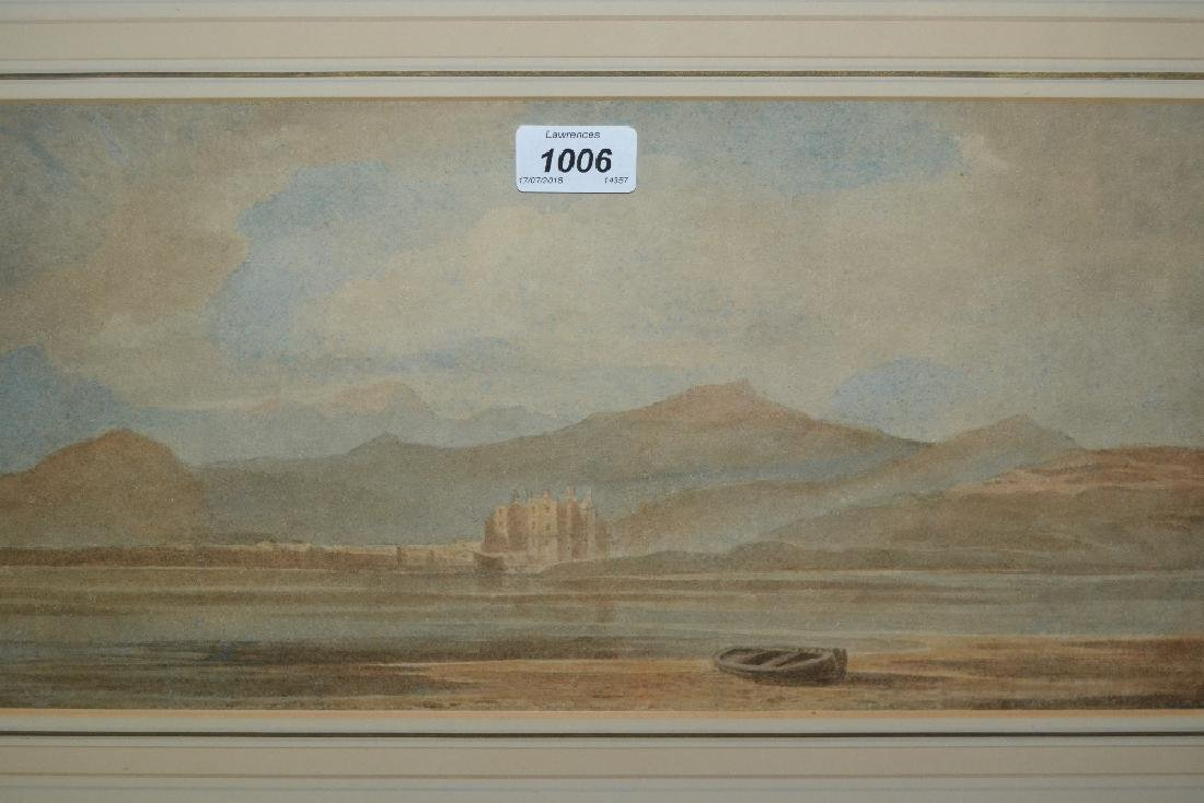 Attributed to John Varley, 19th Century watercolour,