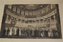 Quantity of various unframed engravings
