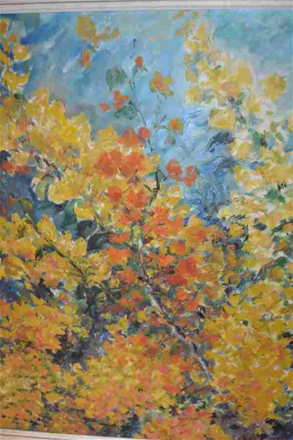L. Lobe Minkmar, oil on canvas, still life,