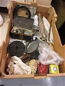 Small box containing a quantity of various collectables