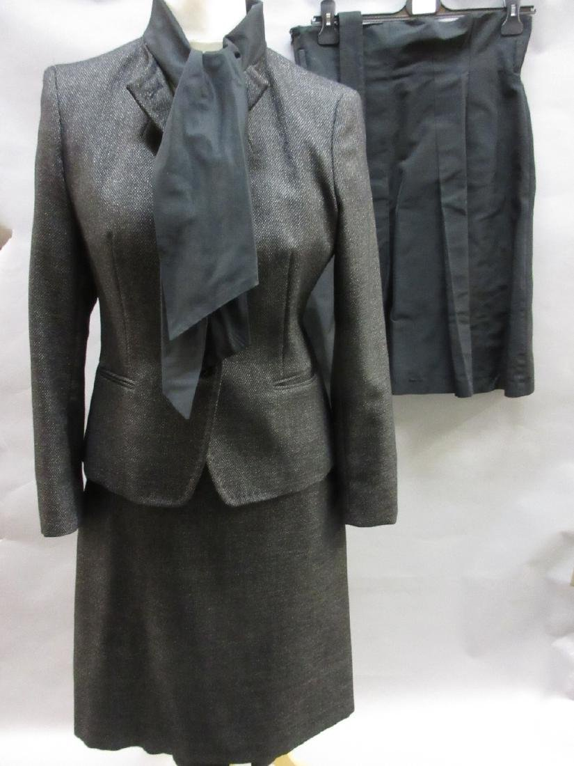 Ladies MaxMara two piece black suit, size 12/14 and a