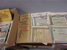 Box containing a quantity of various Russian Railroad