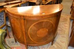 Good quality Edwardian mahogany satinwood and rosewood