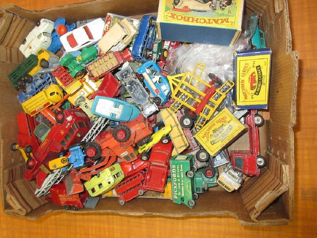 Quantity of Lesney Matchbox die-cast toys