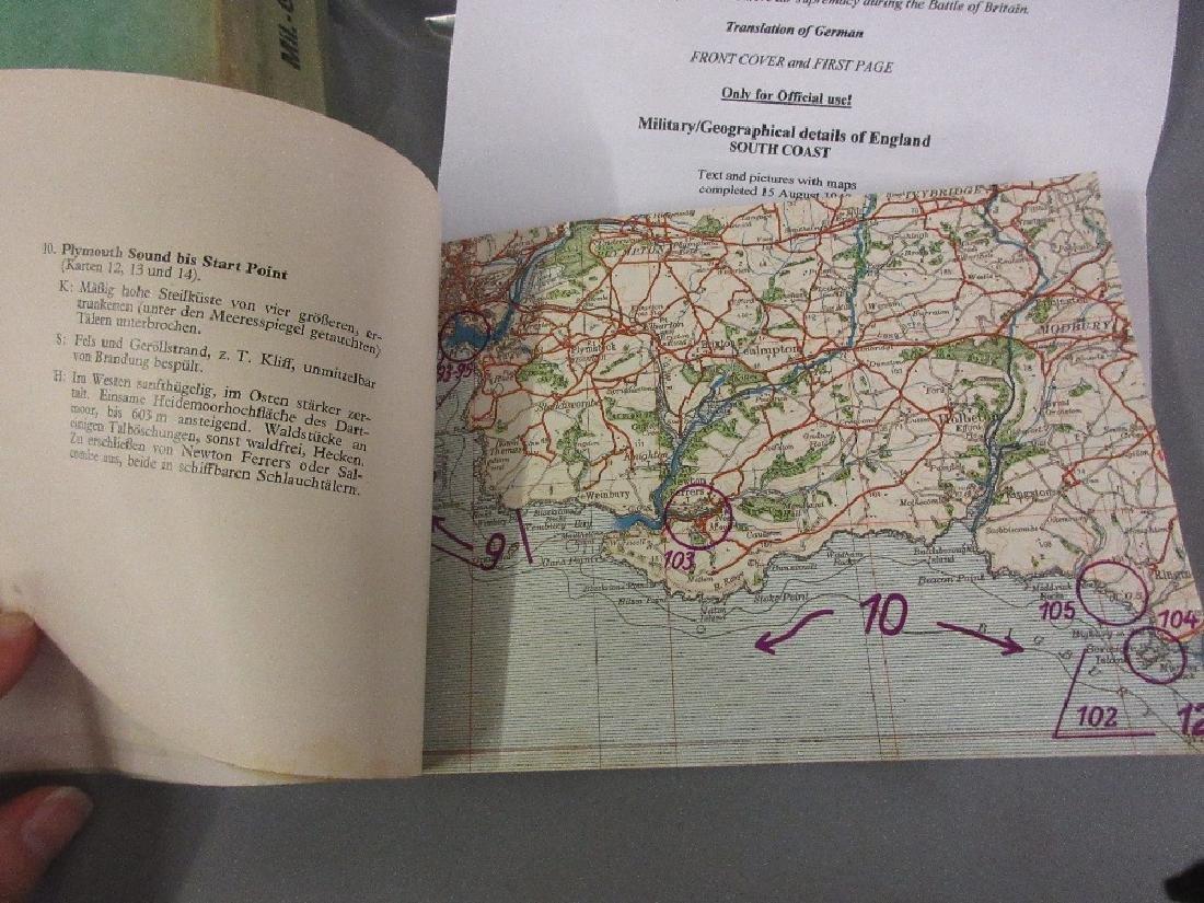 German World War II Department for War, folio and album - 2