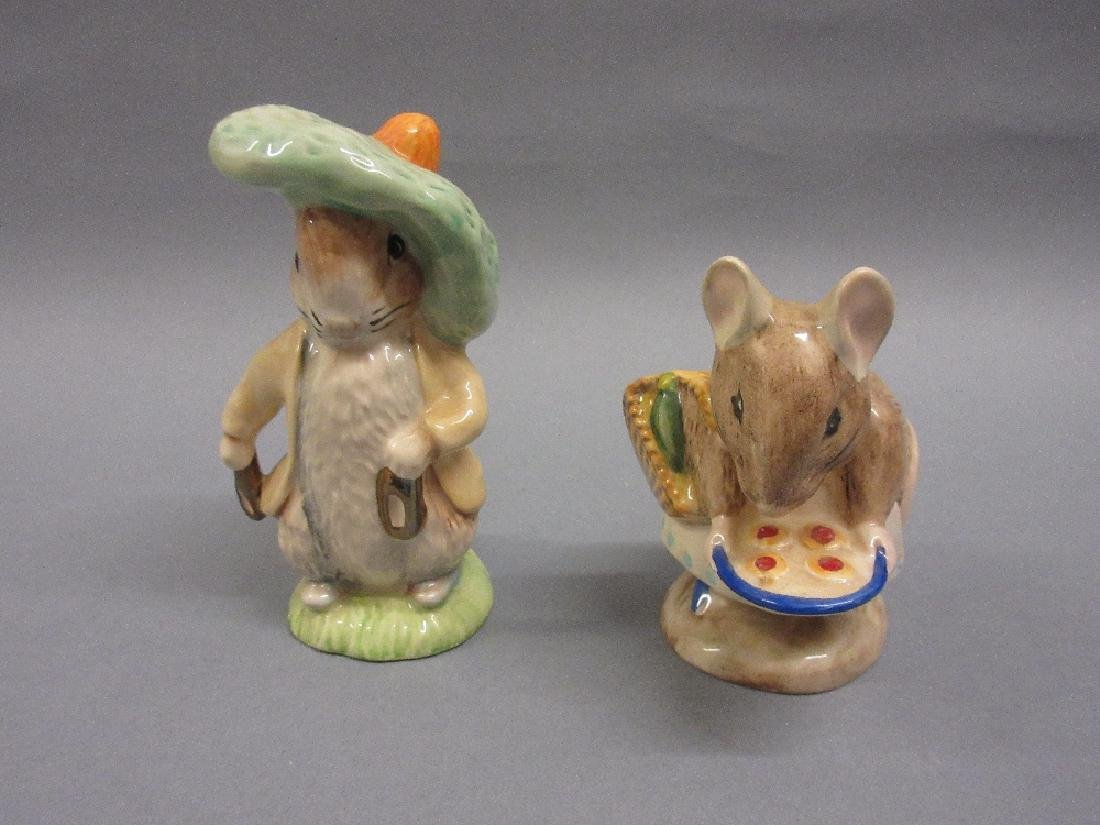 Fifteen boxed Royal Albert Beatrix Potter figures