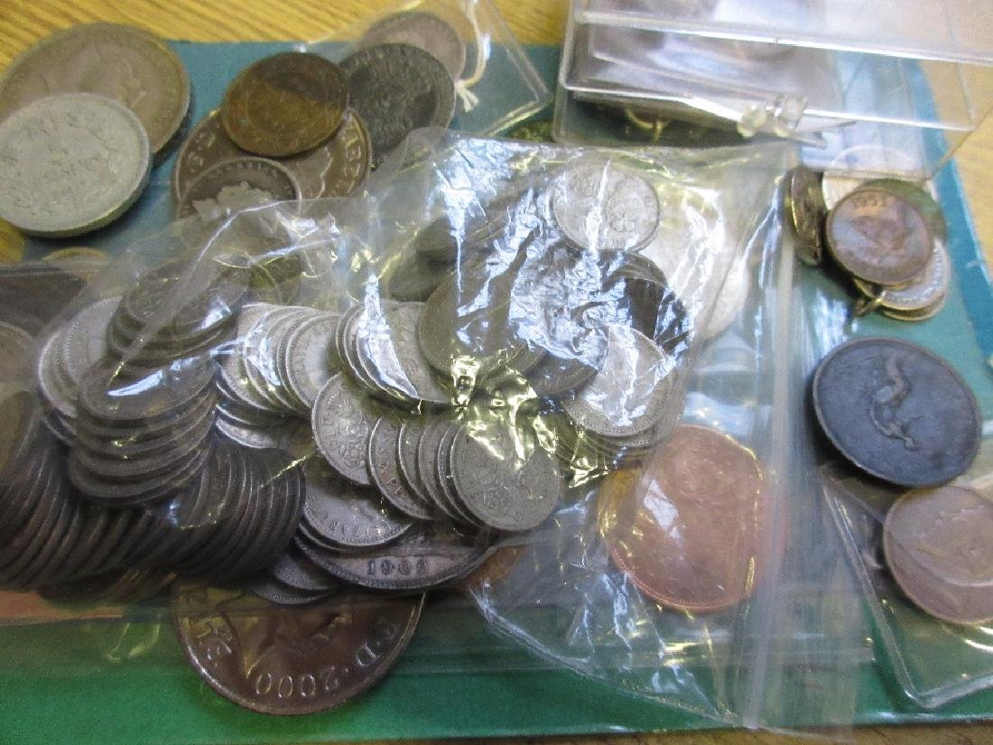 Bag containing a quantity of miscellaneous antique and