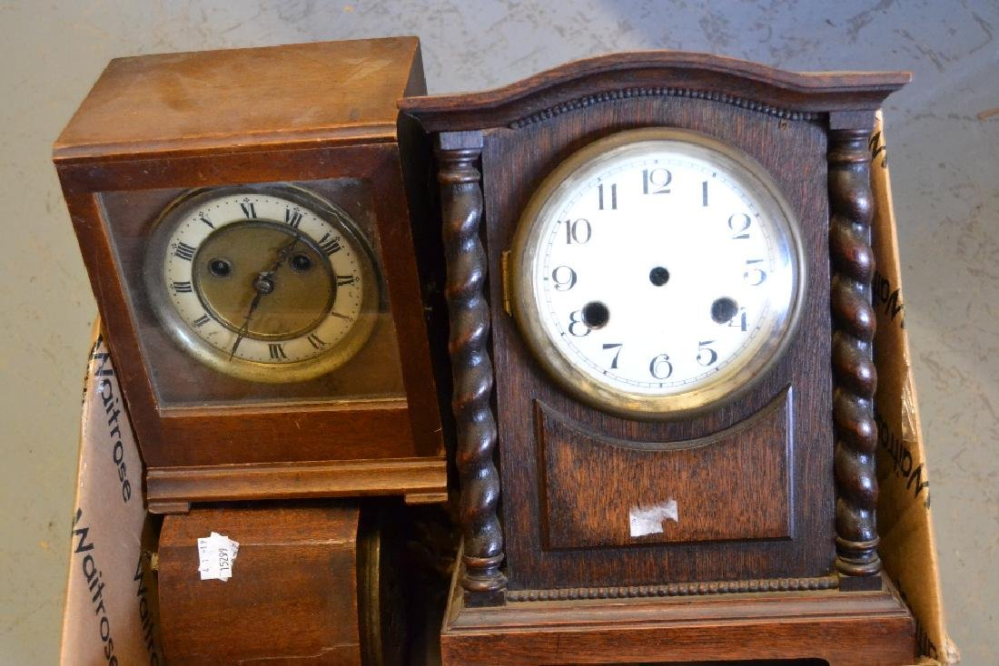 Miscellaneous 19th and 20th Century mantel clocks and