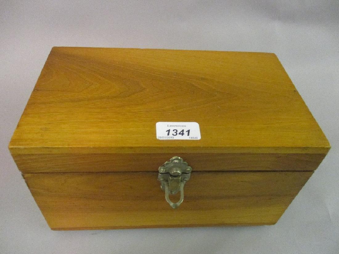 Late 19th Century mahogany box