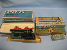 Eight boxed Triang  Spoton  model vehicles