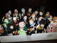 Collection of twenty five Royal Doulton Dickensian