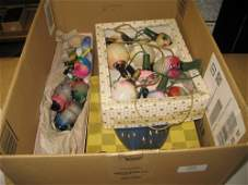 Two boxes containing a collection of various vintage