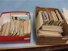 Two boxes containing a large collection of various