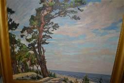 Vasile Alepsgins (Latvian), 20th Century oil on canvas,