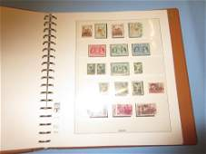 Album containing a quantity of Ionian Island stamps and