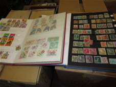 Extensive collection of World stamps housed in albums