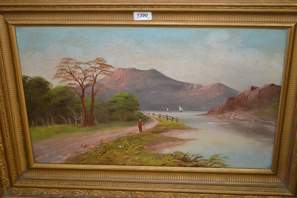 Pair of late 19th or early 20th Century oil paintings