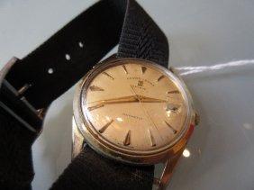Gentlemans Favre-leuba Daymatic Gold Plated Wristwatch