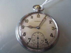 Leonidas War Office Issue Crown Wind Pocket Watch