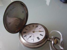 I.w.c. Silver Hunter Pocket Watch