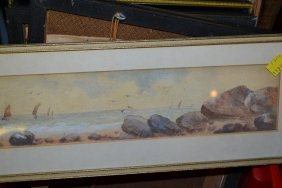 Set Of Four Coloured Golfing Lithographs After Crombie,
