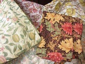 Quantity Of Vintage Colourways William Morris Curtains