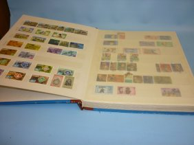 Stock Book Containing A Quantity Of Various