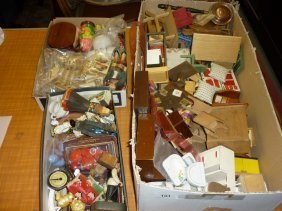 Three Boxes Containing A Large Quantity Of 1950's Dolls