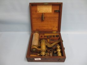 Late 19th Century Mahogany Cased Richards Patent Steam