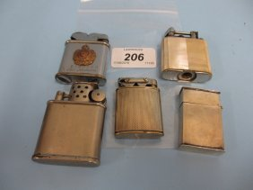 Five Various Cigarette Lighters