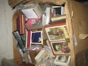 Box Containing A Large Quantity Of Assorted Playing