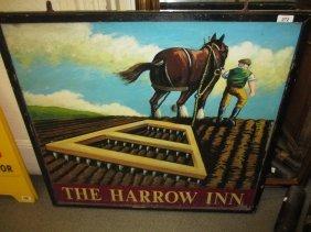 ' The Harrow Inn ' Painted Pub Sign