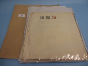 Album Containing A Quantity Of Mixed Pages Of Stamps,