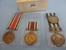 Small Collection Of Various Medals