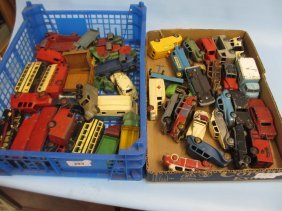 Large Quantity Of Mixed Die-cast Model Dinky Toys In