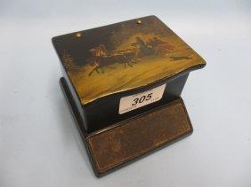 Good Quality 19th Century Russian Papier Mache Table