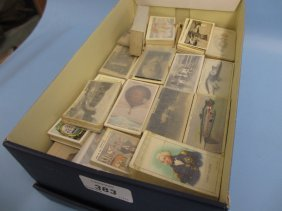 Large Collection Of Various Sets Of Cigarette Cards
