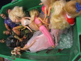 Box Containing A Quantity Of Various Mattel, Barbie And