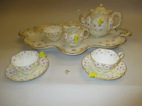 George Jones Crescent China Tea Service For Two