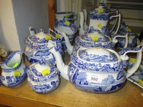 Quantity Of Copeland Spode Italian Pattern Tea And