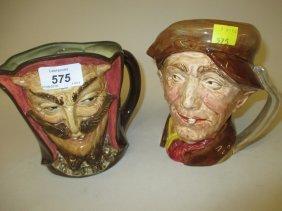 Large Royal Doulton Character Jug ' Mephistopheles '
